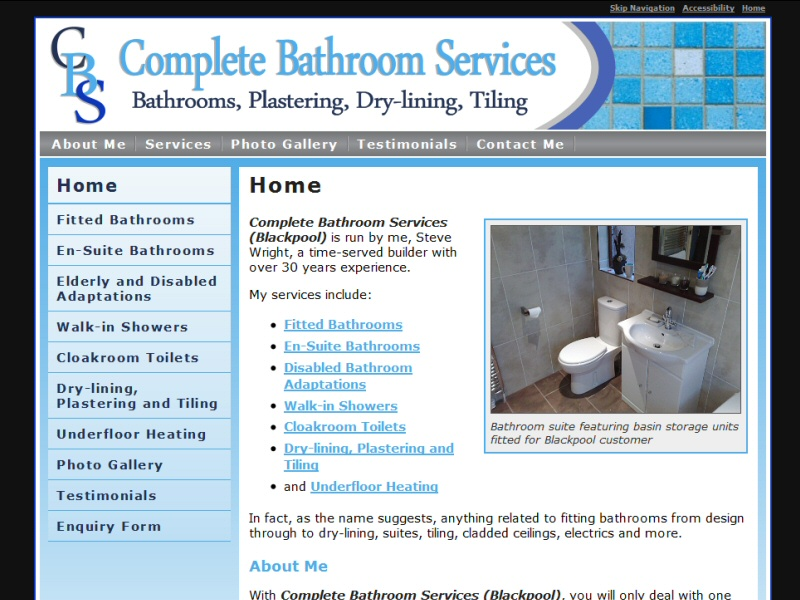 Screenshot - Complete Bathroom Services (Blackpool)