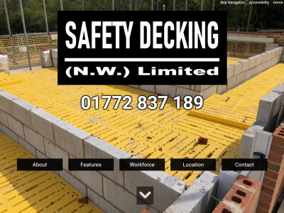 Screenshot - Safety Decking (N.W.) Limited
